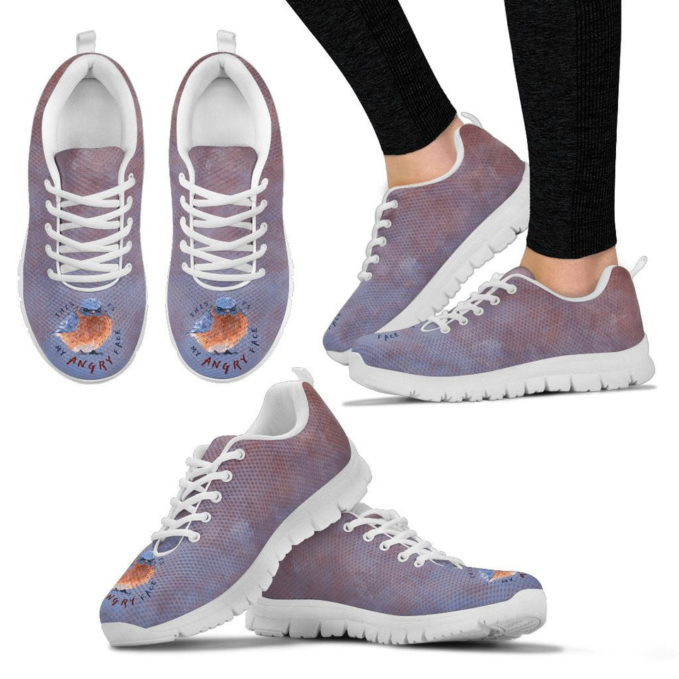 women's blue sneakers