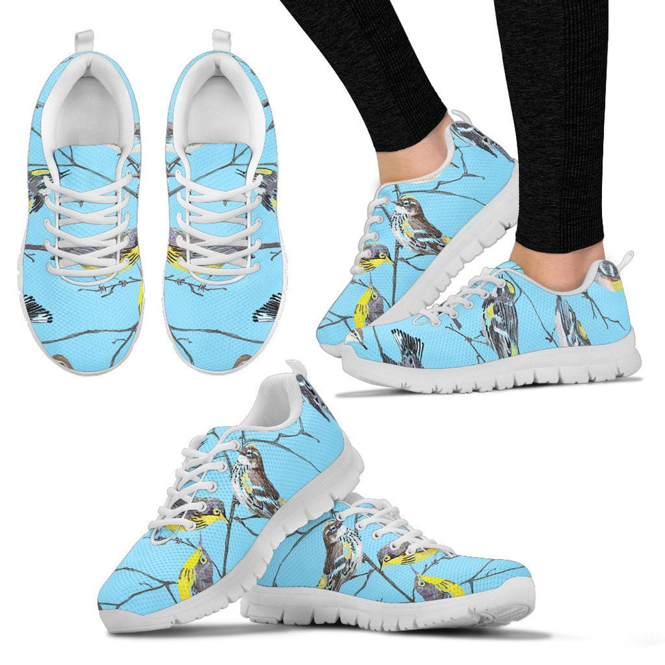 birdwatcher woman sneakers