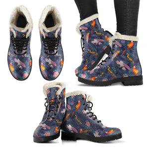 irregular choice parrot boots