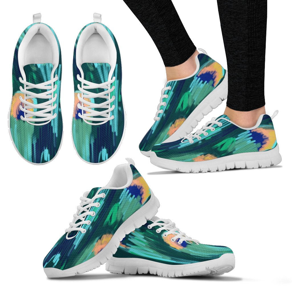 women's multicolor sneakers