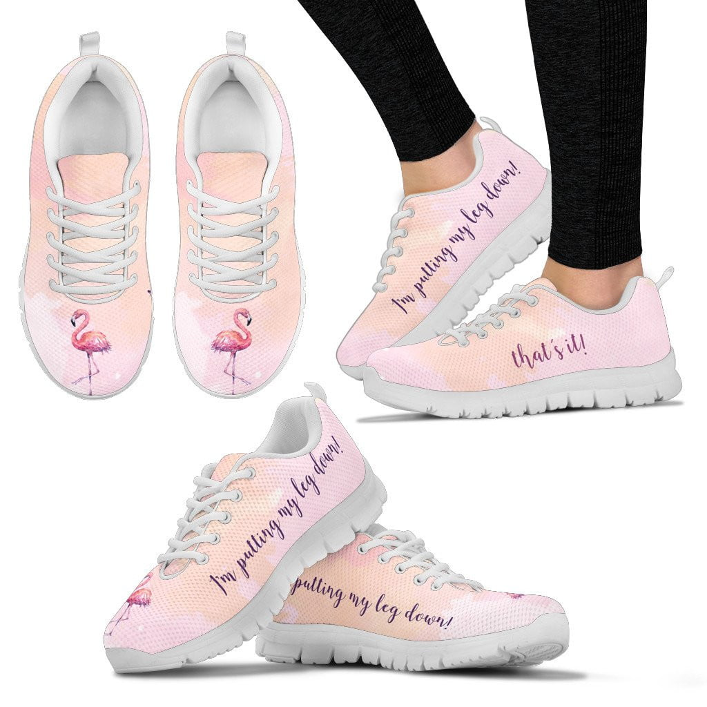 Flamingo sneakers for women