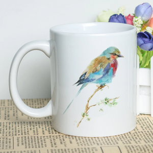 """A Beautiful Flock"" Set of Random Birds Classic Coffee Mugs"