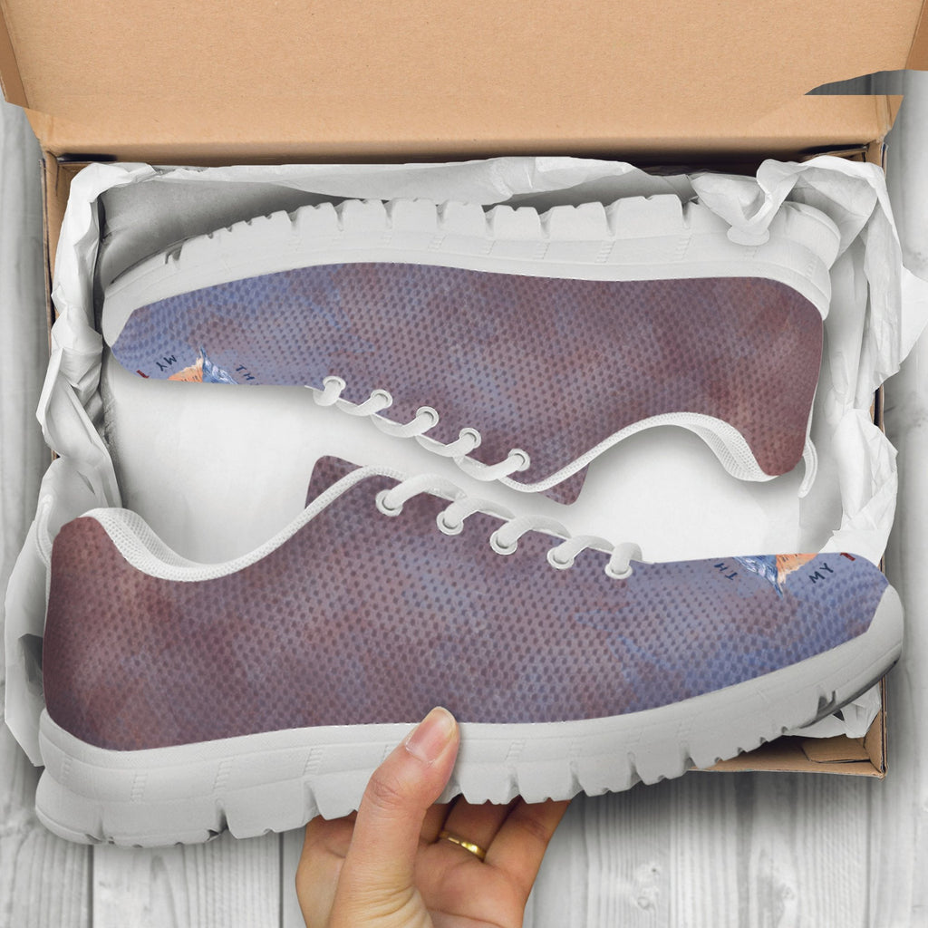 women's colorful sneakers