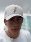 white bird dad hat sale