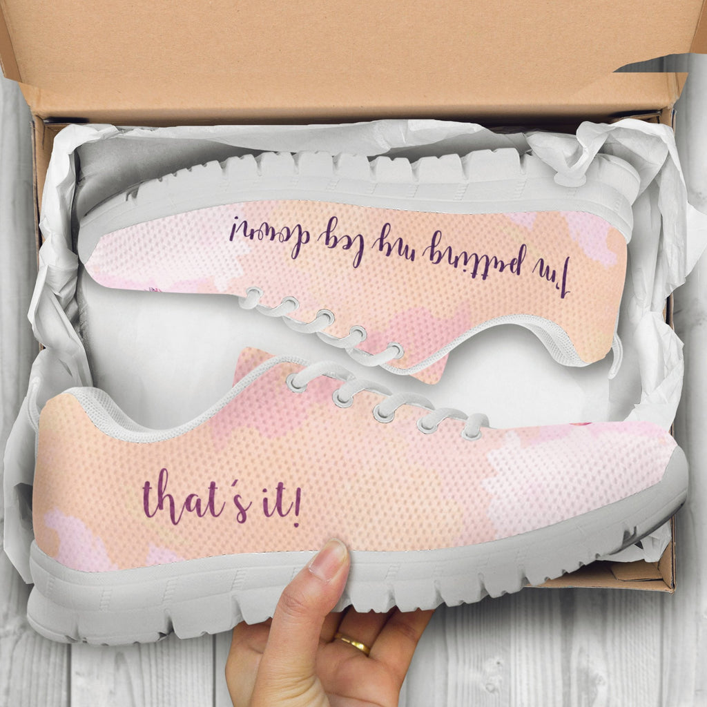 pink flamingo women sneakers on sale