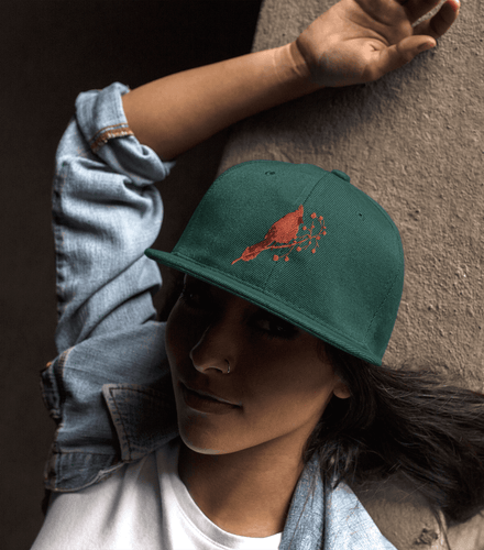 red cardinal dad hat