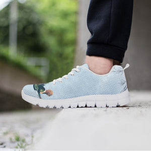 hummingbird light blue women's hiking sneakers