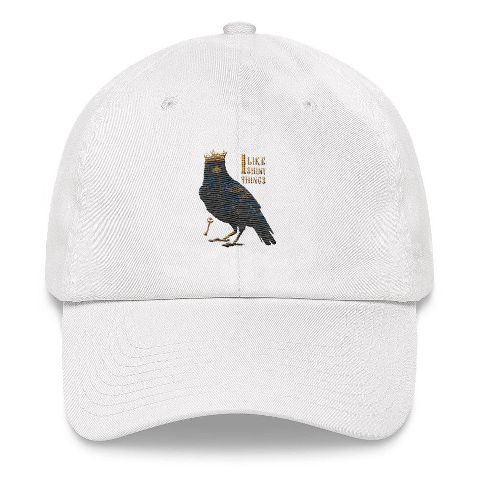 raven white wome's dad hat