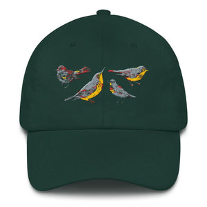 lovely bird hat
