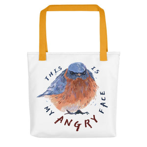 blue bird handbag