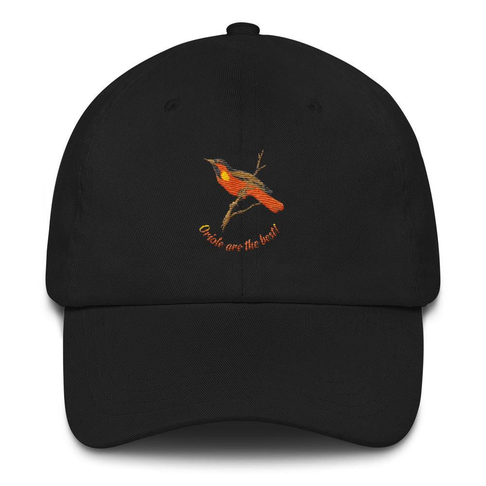 women's orioles black hat
