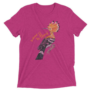pink t shirt with funny sayings bird