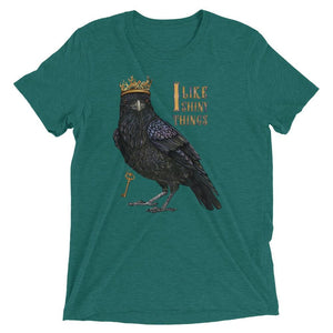 """I Like Shiny Things"" Crow Women's T-Shirt"