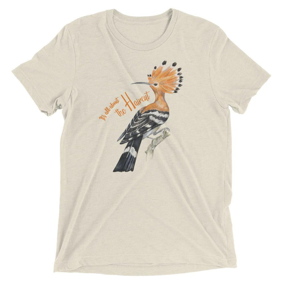 "Hoopoe ""It's All About The Haircut"" Men's T-Shirt"