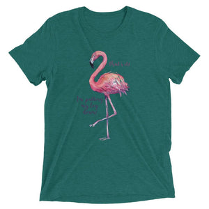 women's flamingo t shirt