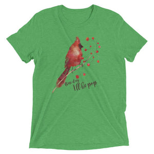red cardinal bird men's t-shirt online