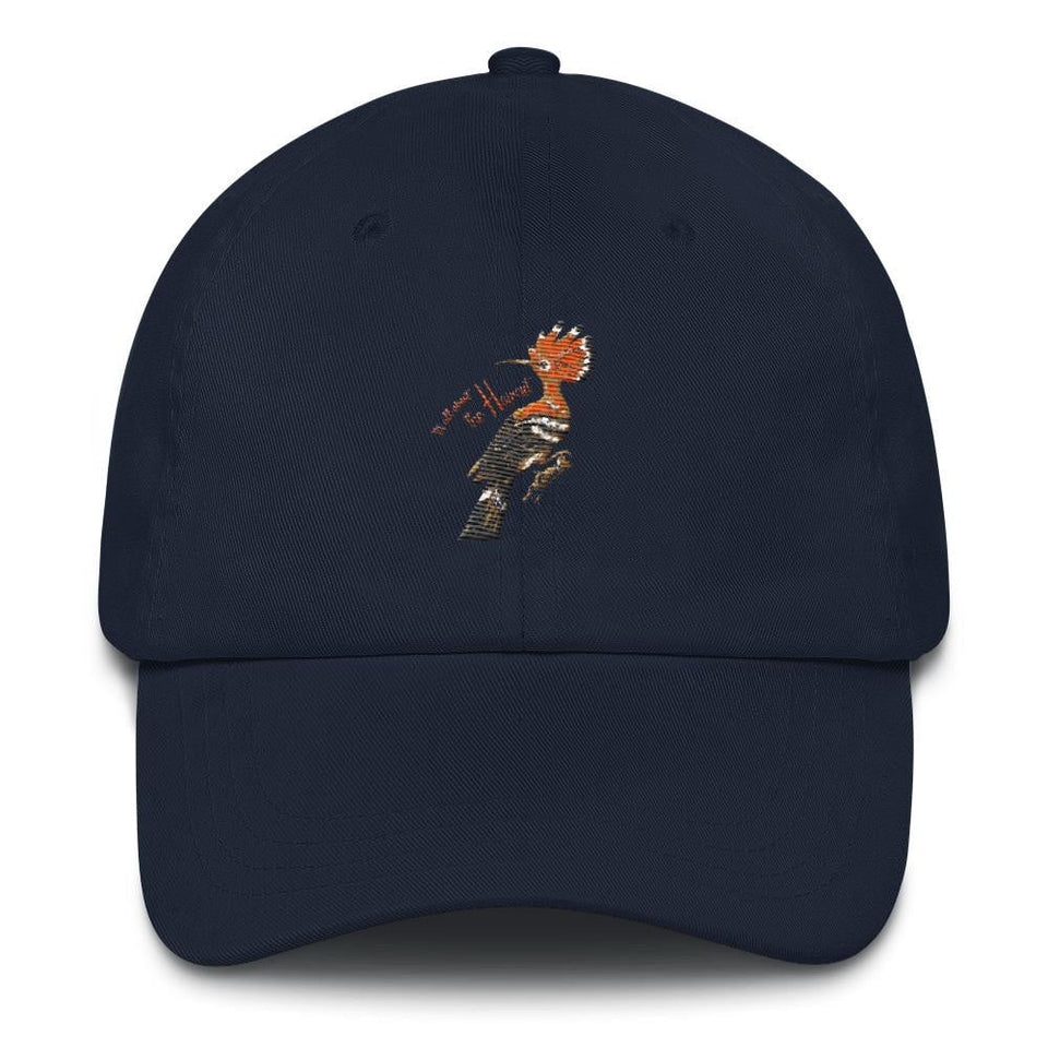 "Hoopoe ""It's All About The Haircut"" Men's Dad Hat"