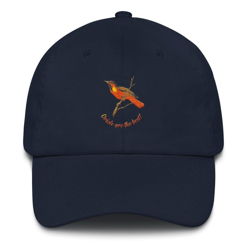 orioles navy dad hat
