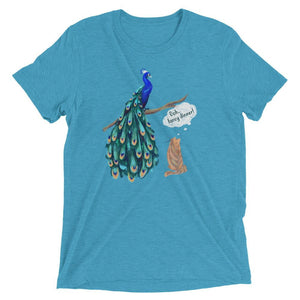 women's peacock t shirt