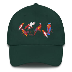 """PARroTY HARD"" women's Dad hat"