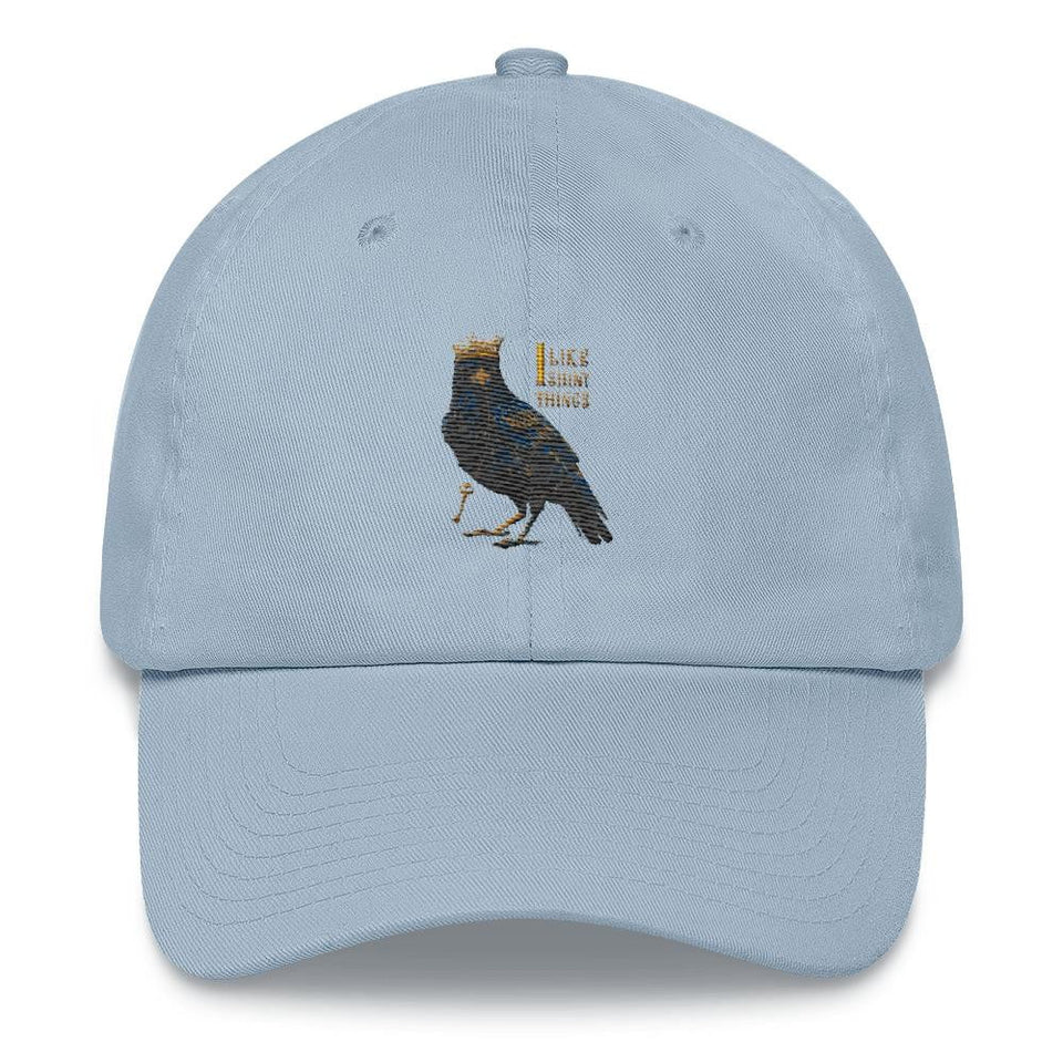 dad hat crow design