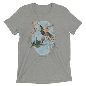 hummingbird grey t shirt