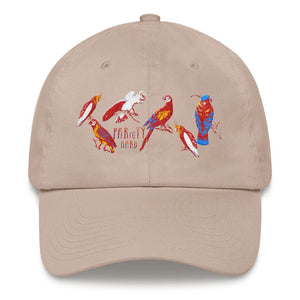 birds dad hat design