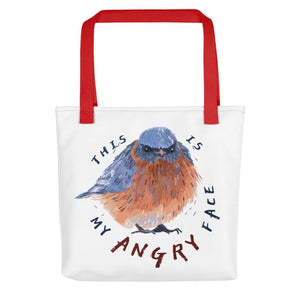 bird print women's bag