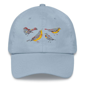 light blue dad hat style