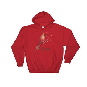 red cardina men's hoodies 3xl
