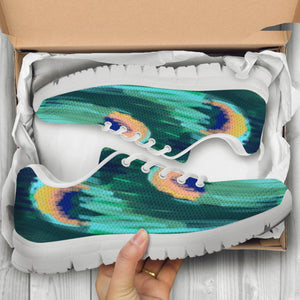 peacock women's sneakers casual