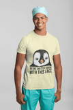 Penguin Cute Face Men's T-Shirt