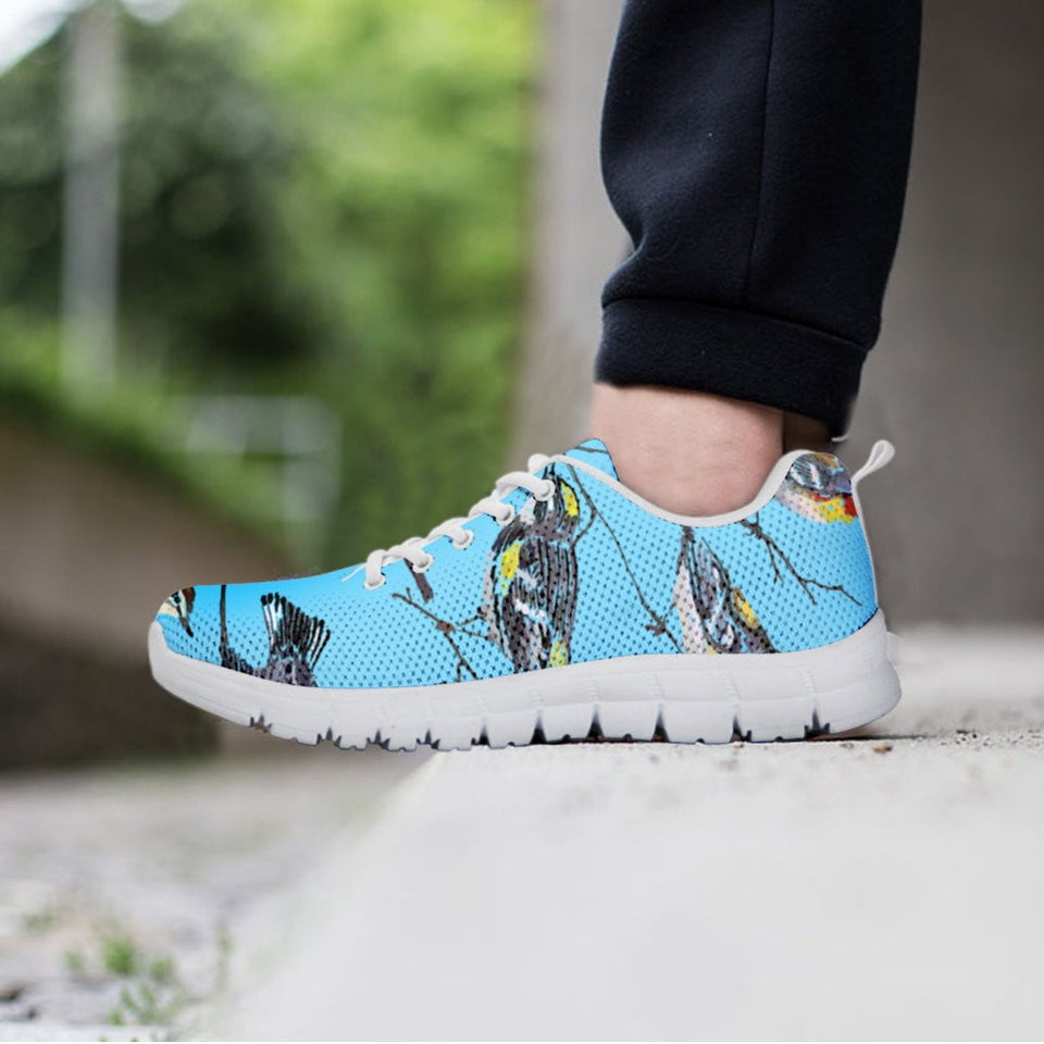 bird men's light blue sneakers
