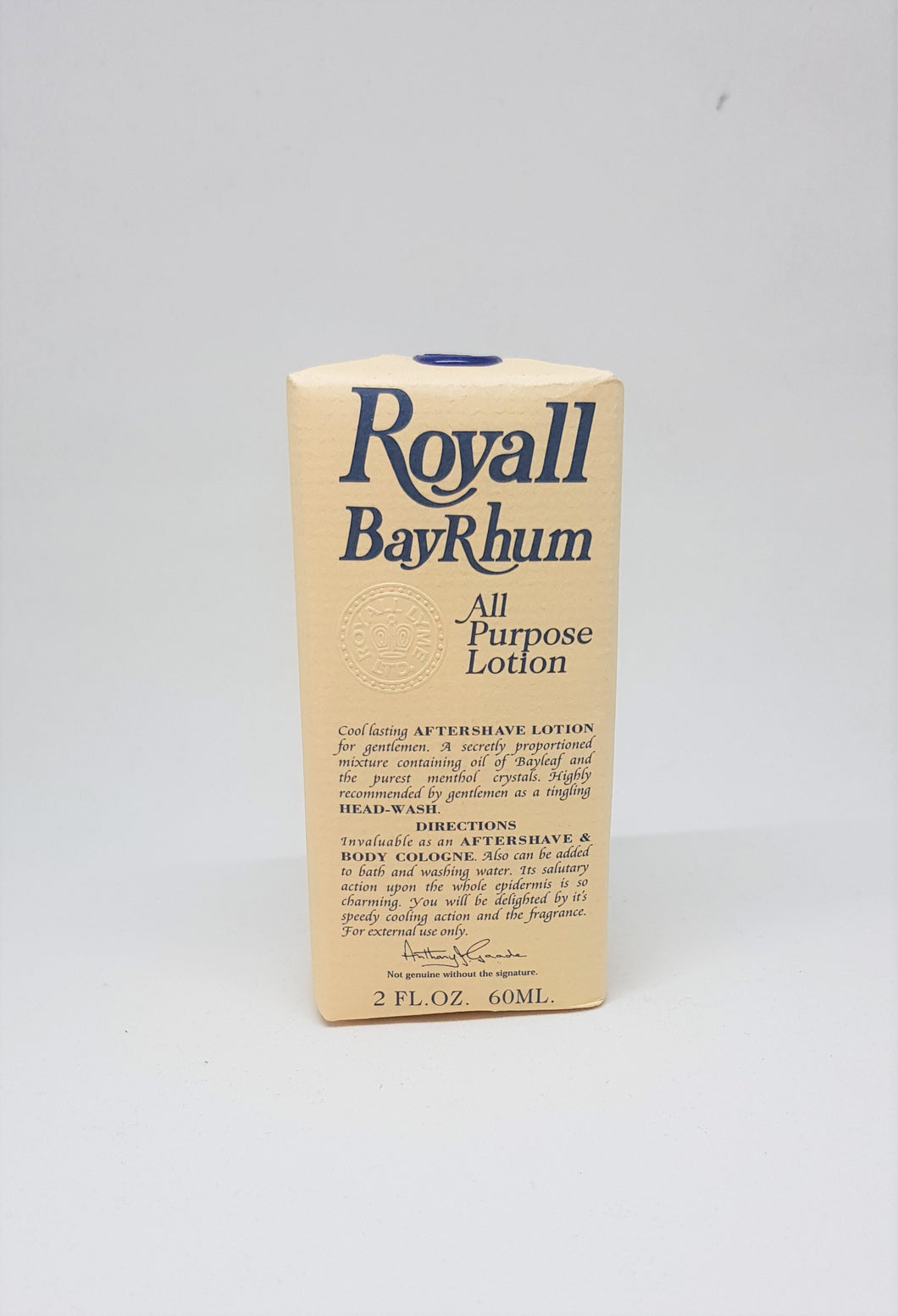 Royall Lyme of Bermuda Bay Rhum