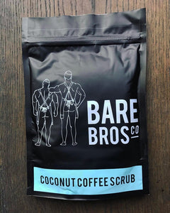 Bare Bros Co Coconut Coffee Scrub