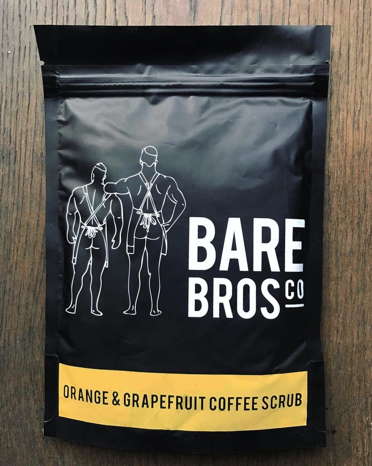 Bare Bros Co Orange & Grapefruit Coffee Scrub