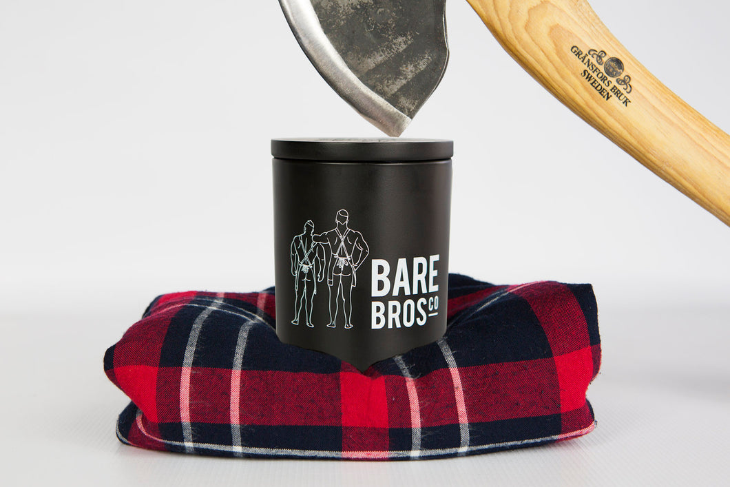 Bare Bros Co Candle Mandle The Lumberjack