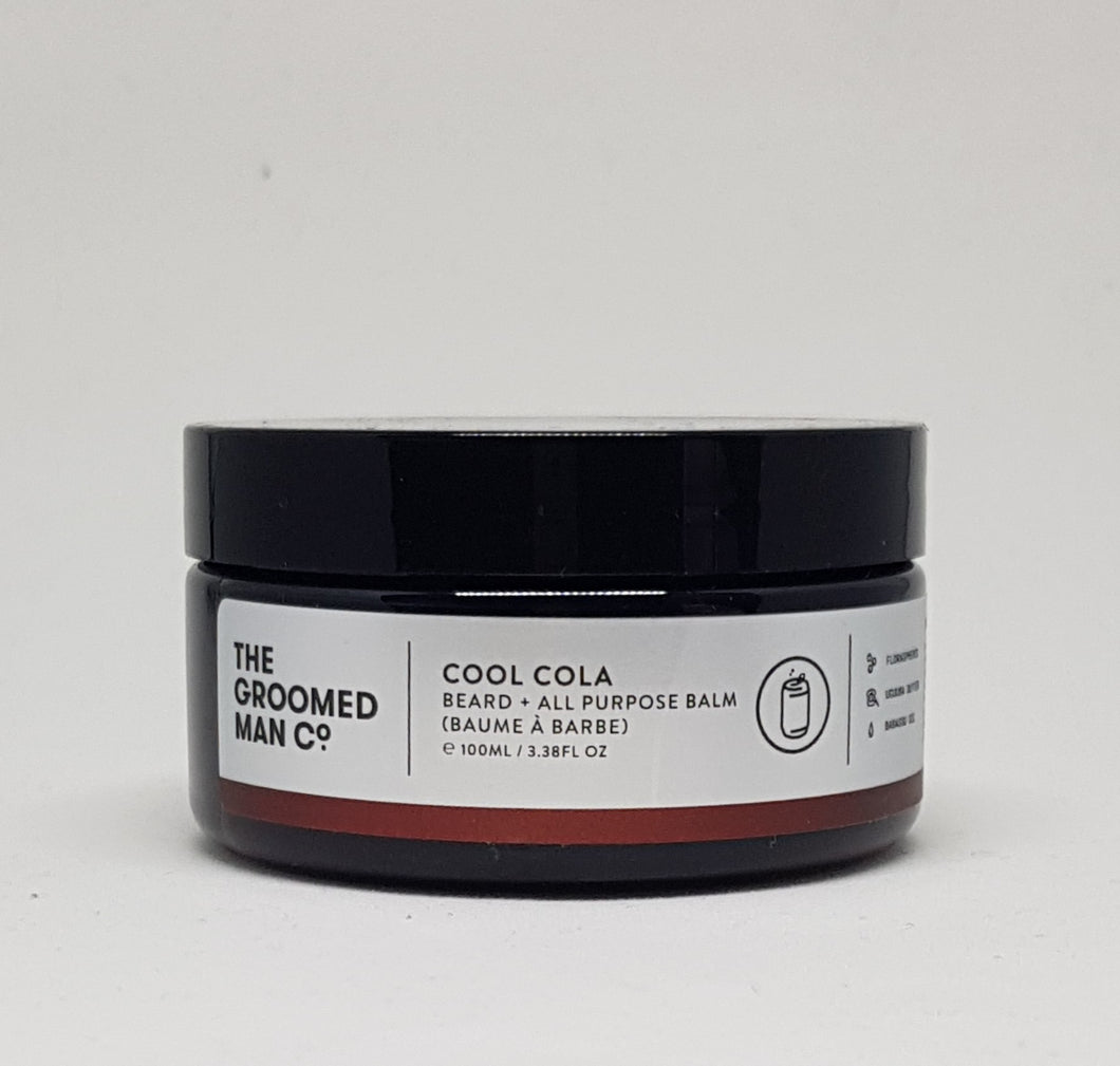 The Groomed Man Co Beard Balm Cool Cola