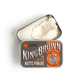 King Brown Matte Pomade