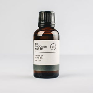 The Groomed Man Co Beard Oil Spruce Up