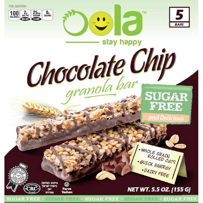 Chocolate Chip Sugar Free 60 bars/case