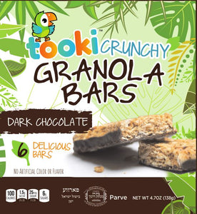 Tooki Dark Chocolate Crunchy Granola Bars