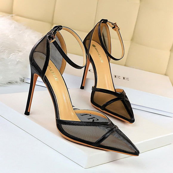 Thin Heeled Sandals