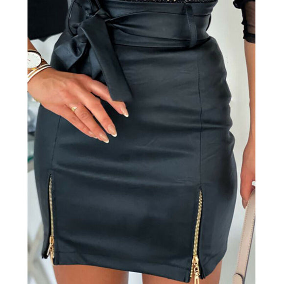 Mini Slim Skirt