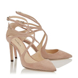 Nude Hot Women Strapy Heels