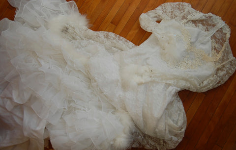 1980's Wedding dress