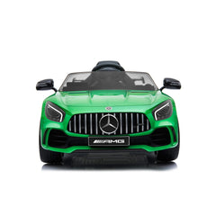 Licensed Mercedes Benz GTR 12v Kids Ride on Car with Remote - Green