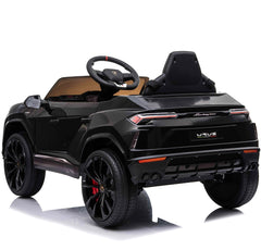 Licensed Lamborghini Urus 12V Ride On Children's Electric SUV - Black
