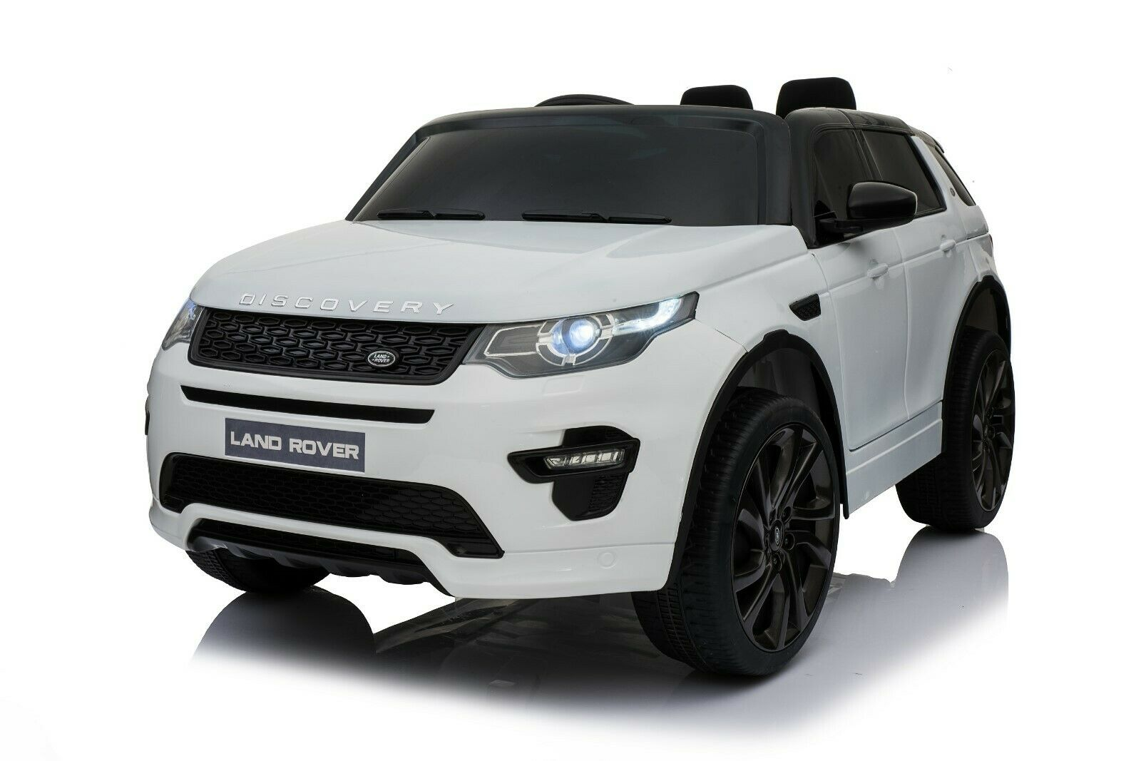 Licensed Land Rover Discovery 12v Kids Ride on Car - White
