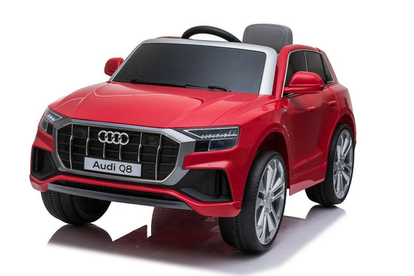 Licensed 12V Audi Q8 Children's Battery Operated 12v Ride on SUV - Red